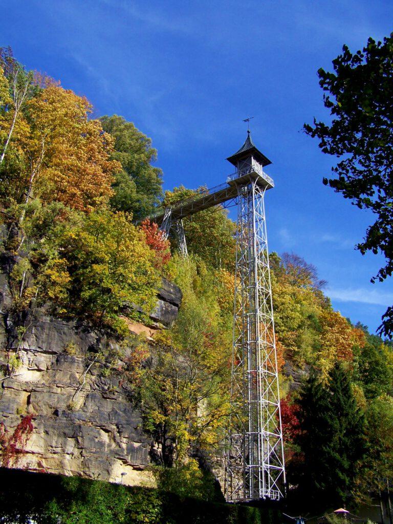 Personenaufzug Zugang Bad Schandau